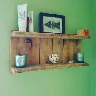Pallet shelving unit £25