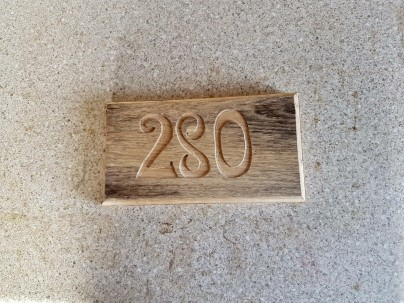 House Number £15